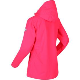 Regatta Hamara II Waterproof Shell Jacket Women neon pink